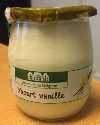 Yaourt Vanille - Producto
