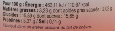 Yaourt au lait entier bi-couche fraise LE PETIT VERSAILLAIS - Nutrition facts - fr