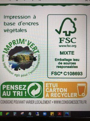 Saumon Sauvage Argenté du Pacifique MSC pêché à la ligne surgelé - Recycling instructions and/or packaging information - fr