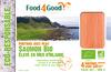 Portions avec peau Saumon BIO élevé en Mer d'Irlande - Product