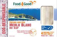 Portions sans peau Merlu Blanc du Cap MSC - Product - fr