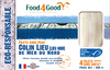 Filets sans peau Colin Lieu (Lieu Noir) de Mer du Nord MSC - Produit