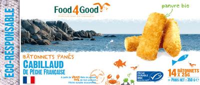 Bâtonnets panés Cabillaud de pêche française - Product - fr