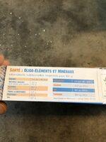 Bâtonnets panés Cabillaud de pêche française - Valori nutrizionali - fr