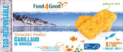 Tranches panées Cabillaud de Norvège - Product - fr