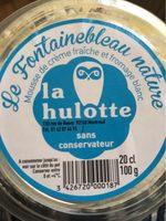 Dessert à base de fromage frais au lait pasteurisé et crème fouettée Fontainebleau nature LA HULOTTE coupelle 15cl - Informations nutritionnelles - fr