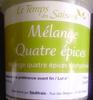 Mélange Quatre épices - Product