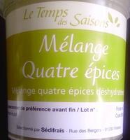 Mélange Quatre épices - Product - fr