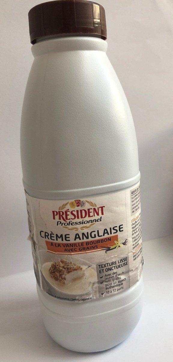 Crème Anglaise vanille Bourbon-grains de vanille - Product
