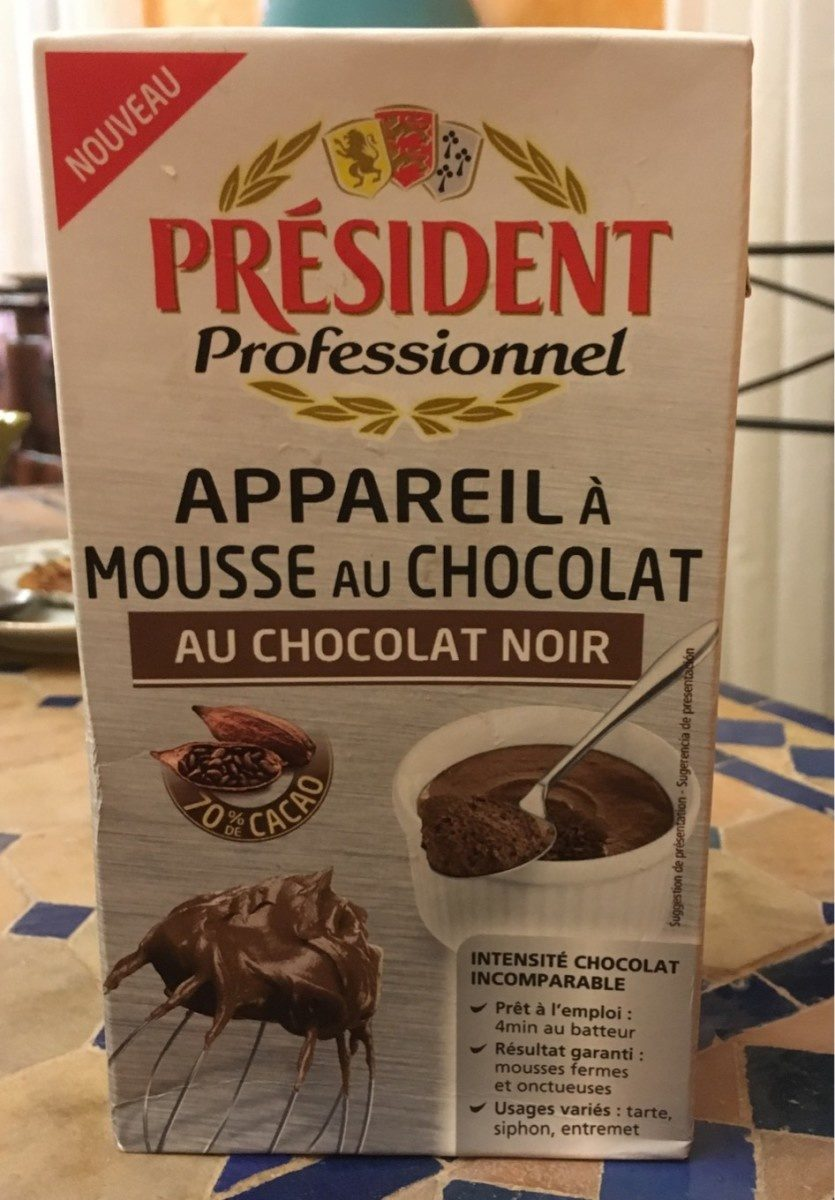 Appareil à Mousse au Chocolat Noir - Product - fr