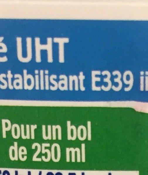 Lait de Chèvre Écrémé - Ingrediënten