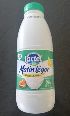 Matin léger sans lactose - Ingrédients - fr