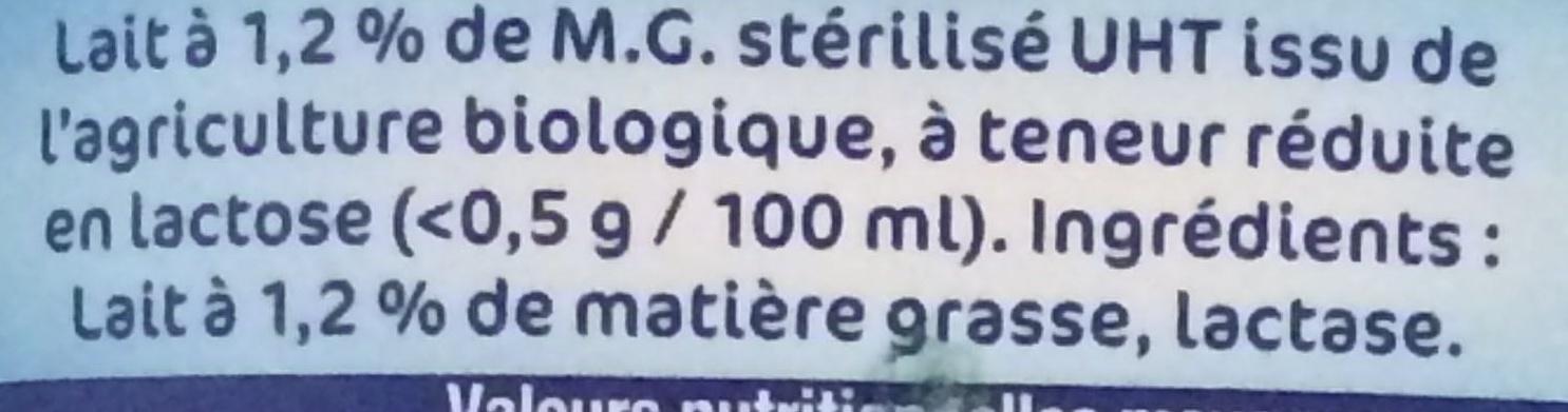 Matin léger BiO - Ingrédients