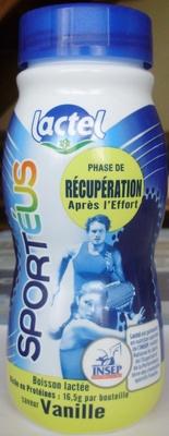 Sportéus saveur Vanille - Product - fr
