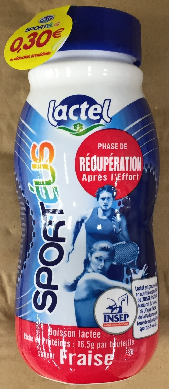Sportéus saveur Fraise - Product - fr