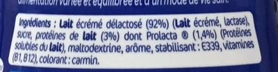 Sportéus saveur Fraise - Ingredients - fr