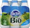 Lactel Lait Demi-écrémé Bio U.h.t. Bouteille - Product