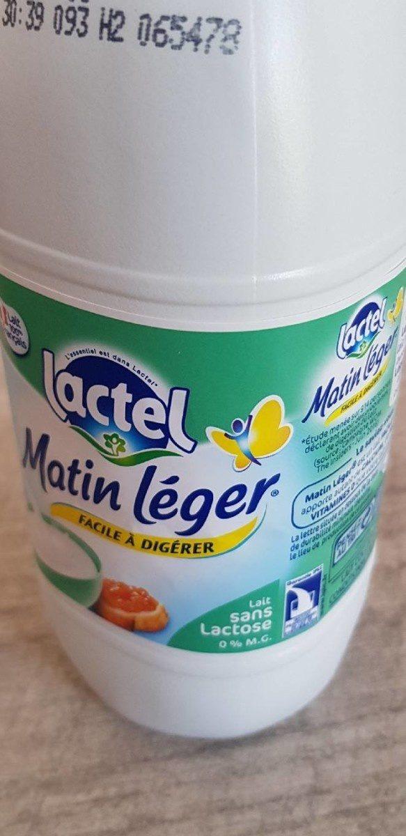 Matin léger - Lait sans lactose - Prodotto - fr