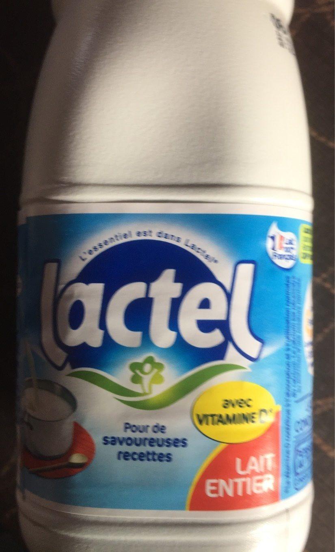 Lactel lait entier - Product - fr
