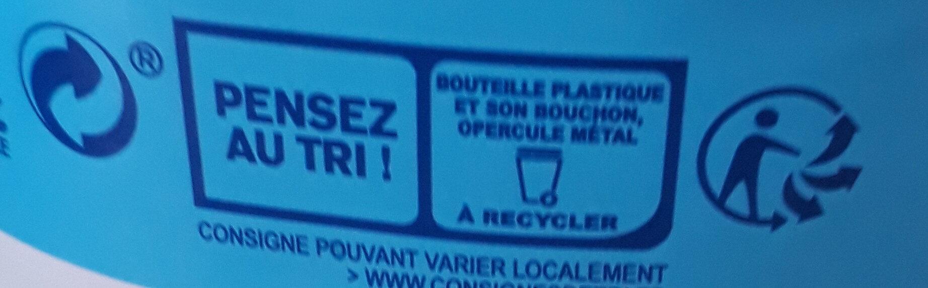 Lait Matin Léger Demi-Écrémé - Instruction de recyclage et/ou informations d'emballage - fr