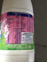 Eveil croissance bio au lait entier - Nutrition facts - fr