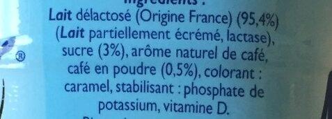 Matin léger - Café au lait - Ingrédients - fr