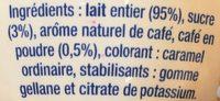 Caffè latte - Ingredients