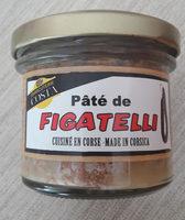 Pate Au Figatelli 90G - Produit