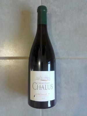 Chateau Chalus AOC Côtes d'Auvergne blanc 2014 - 3