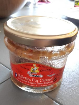 Rillettes Pur Canard - Product - fr