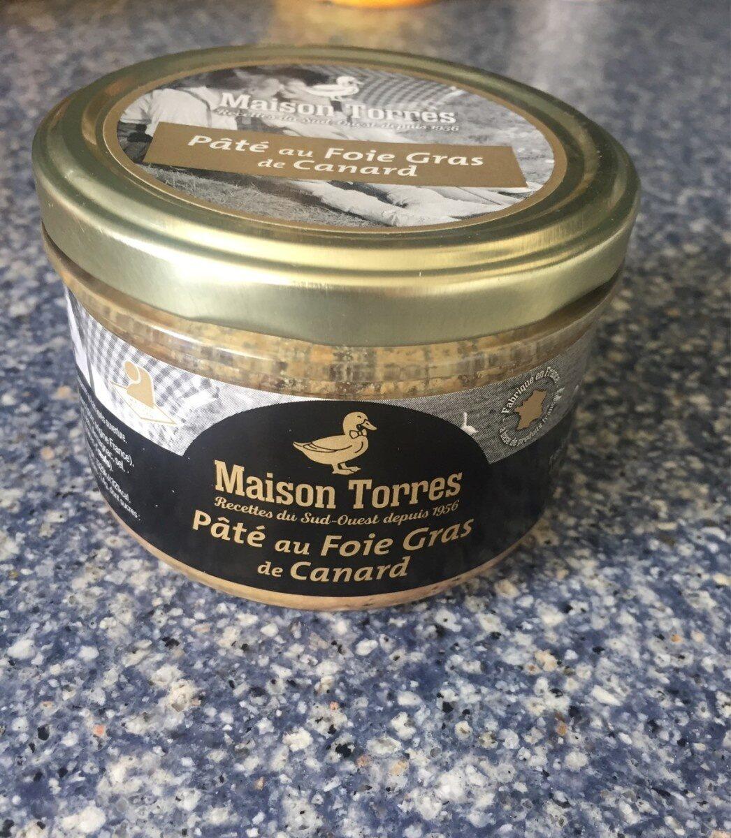 Paté au foie gras de canard - Product - fr