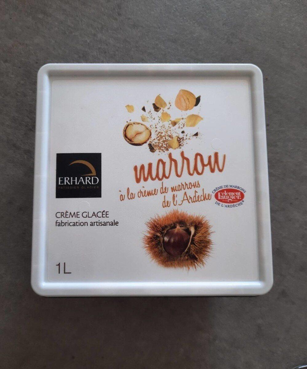 Creme glacée marron de l ardheche - Produit - fr