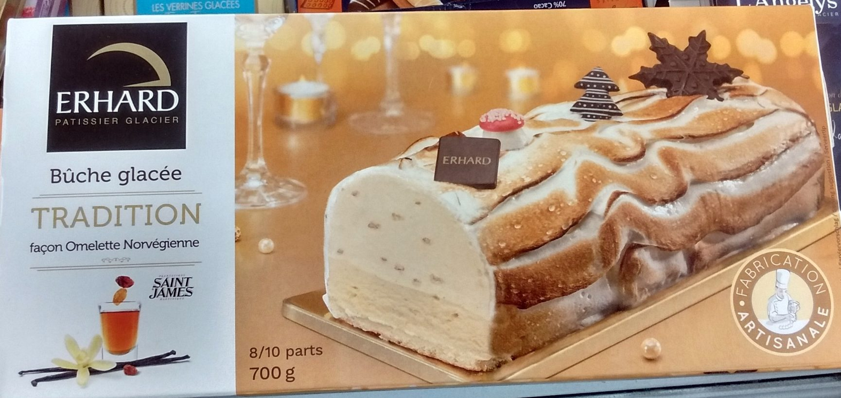 Bûche Glacée Tradition façon Omelette Norvégienne - Product - fr