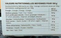 Bûche Glacée Tradition façon Omelette Norvégienne - Voedingswaarden - fr