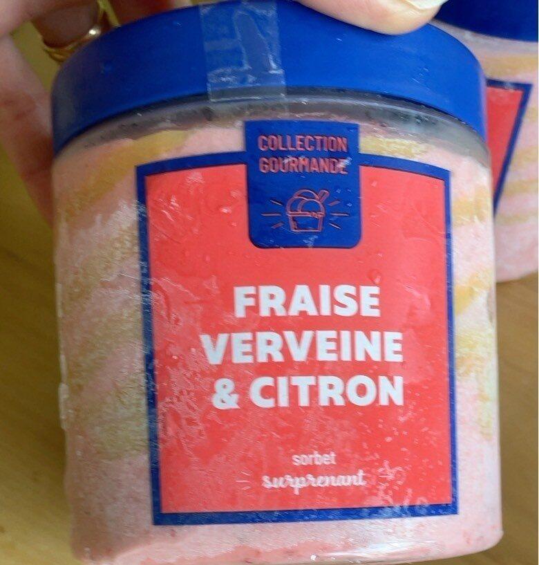 Sorbet fraise verveine citron - Produit - fr