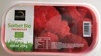 Sorbet bio framboise - Product