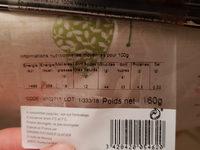 buchette crème au beurre - Informations nutritionnelles