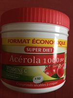 Acérola 1000 Bio Goût Fruits Rouges - Product