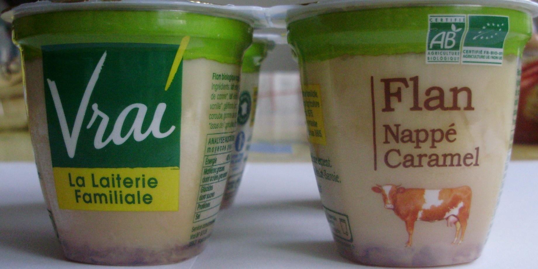Flan Nappé Caramel Bio - Product