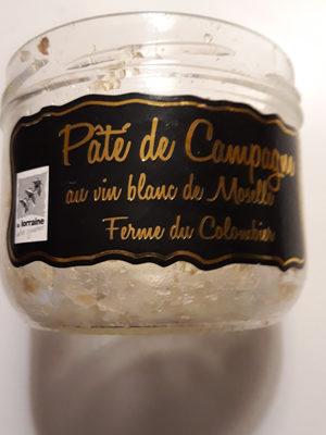 Pâté de campagne au vin blanc de Moselle - Product - fr