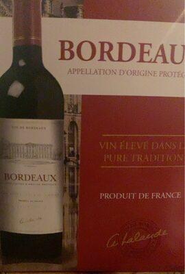 VIN BORDEAUX - Produit - fr