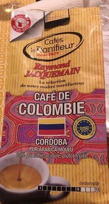 Café de colombie - Ingrédients - fr