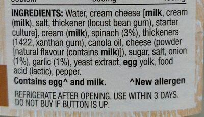 tuna bake - Ingredients - en