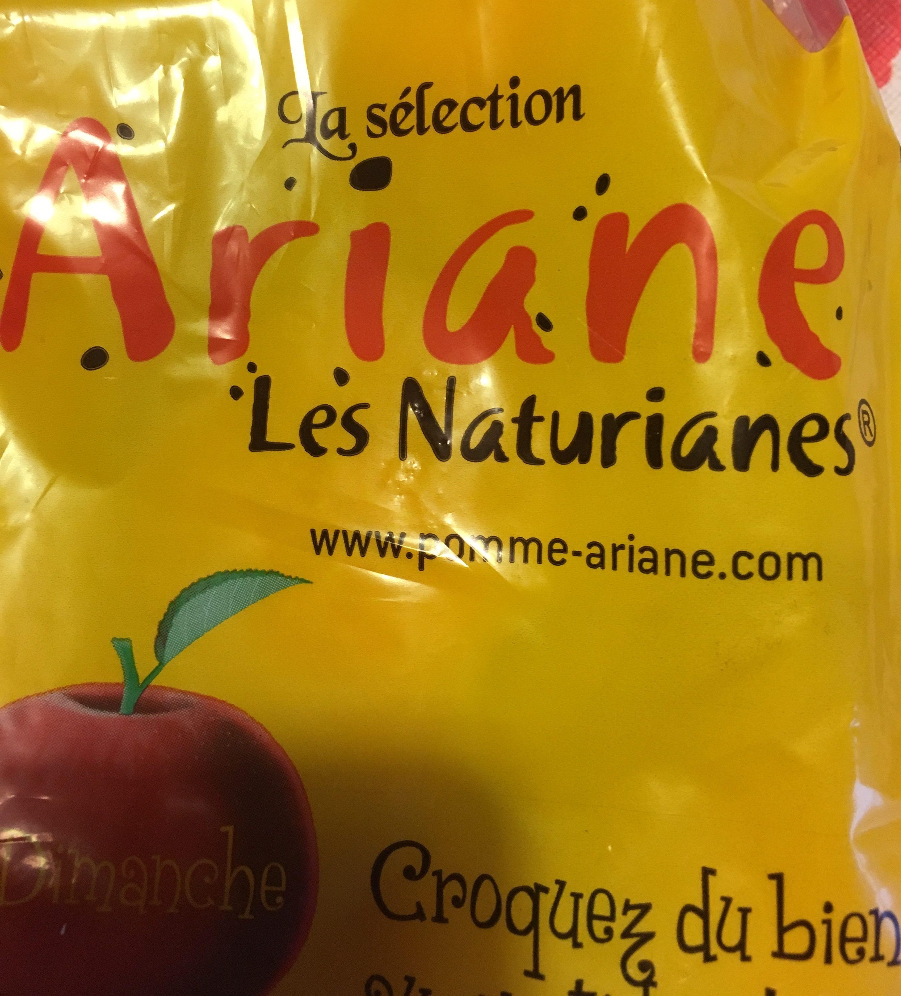 Pomme Ariane, calibre 136/200, catégorie 1, France, sachet - Ingrédients - fr