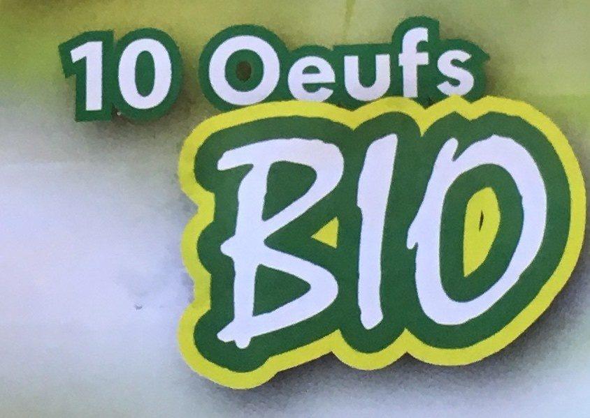 Œufs  Bio - Ingredients - fr
