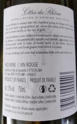 Côtes du Rhône - Produit