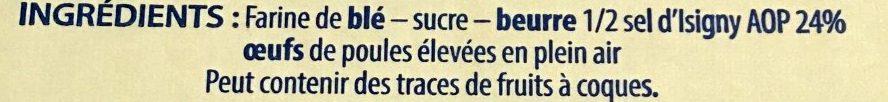 Les Saléfins - Ingrédients - fr