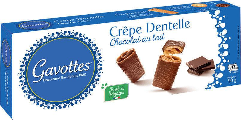 CRÊPES DENTELLE CHOCOLAT AU LAIT 90g - Product - fr
