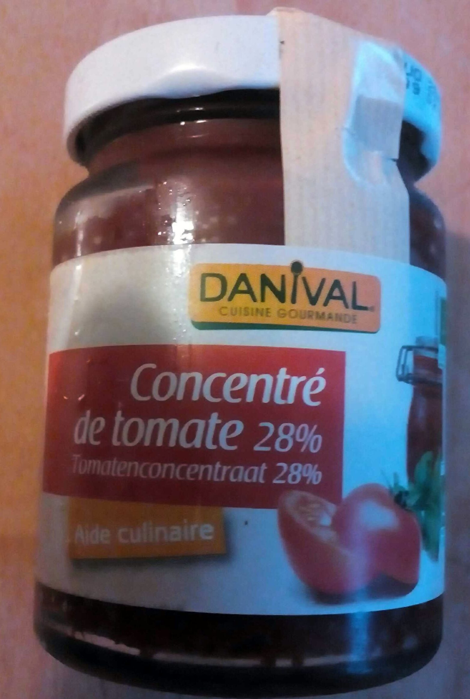 Concentré de tomate 28% - Produit - fr