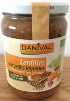 Lentilles aux petits légumes - Product